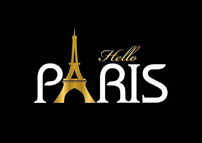 Adele Digital Art - Hello Paris by Carlos Simon