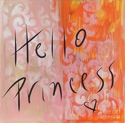 Painting - Hello Princess by Sheila McPhee
