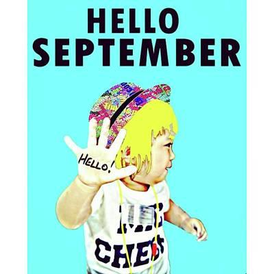 Pop Art Photograph - Hello September. #アート by Takashi Nishimura