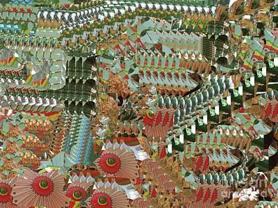 Digital Art - Hello Seurat by Nancy Kane Chapman