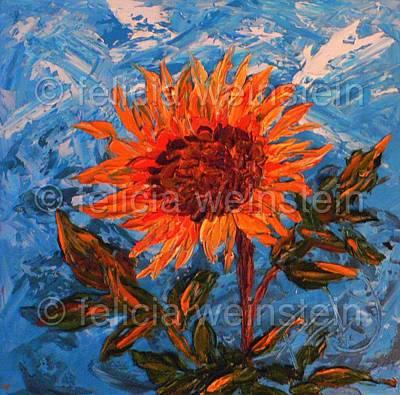 Painting - Hello Sunshine by Felicia Weinstein