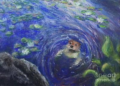 Painting - Hello by Susan Sarabasha