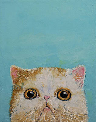 Hello There Print by Michael Creese