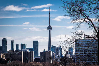 Photograph - The Cn Tower - Toronto by Sara Frank