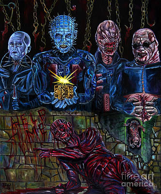Hellraiser Art Print by Jose Mendez