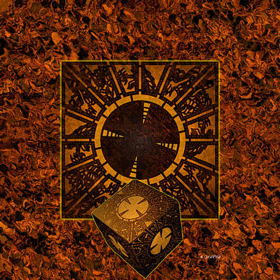 Raiser Digital Art - Hell's Box by Brian Dearth