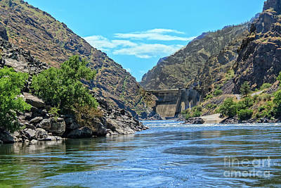 Photograph - Hells Canyon Dam  by Robert Bales