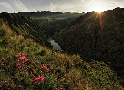 Photograph - Hells Canyon Recreation Area by Leland D Howard