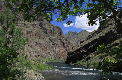 Hells Canyon Snake River Art Print
