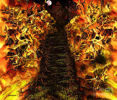 Whitehouse Mixed Media - Hells Entrance by Joe Russell
