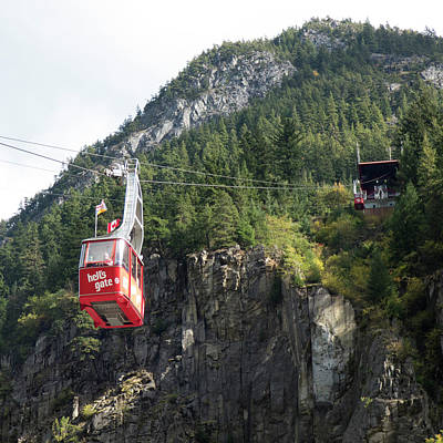 Photograph - Hell's Gate Air Tram by Leslie Montgomery