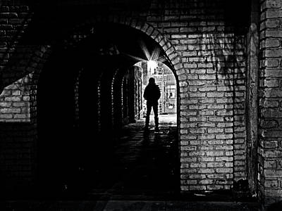 Photograph - Helmcken Alley - 365-260 by Inge Riis McDonald