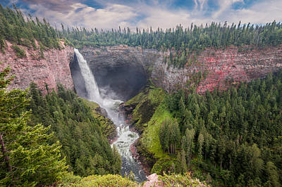 Photograph - Helmcken Falls by Patti Deters