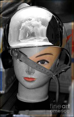 Helmet Art Print by Sascha Meyer