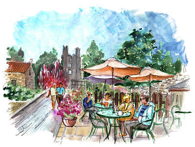 Painting - Helmsley Cafe 01 by Miki De Goodaboom