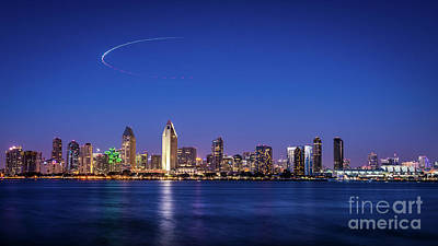 Photograph - Helo Over San Diego by David Levin