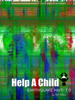 Help Save An Orphan Art Print by Fania Simon