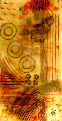 Mixed Media - Helping Hands by Angela L Walker
