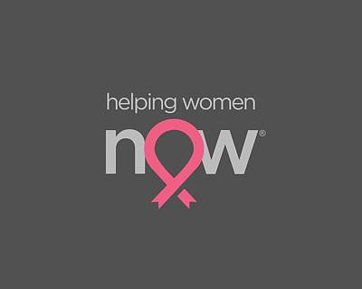 Hope Digital Art - Helping Women Now Pink by National Breast Cancer Foundation