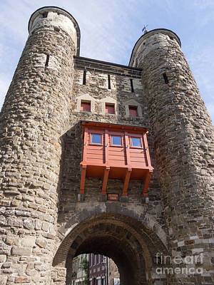 Limburg Photograph - Helpoort Or Hell's Gate In The Old City Wall Maastricht by Louise Heusinkveld