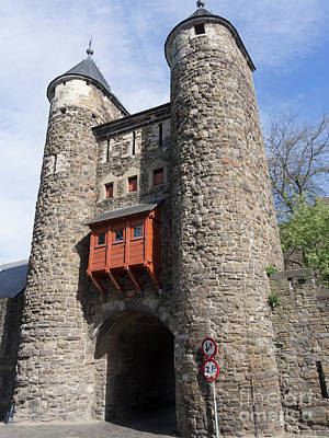 Maastricht Wall Art - Photograph - Helpoort Or Hells Gate Is Part Of The Old City Wall In Maastricht by Louise Heusinkveld