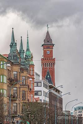 Paul Mccartney - Helsingborg Town Hall Clock Tower by Antony McAulay
