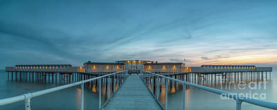 Photograph - Helsingborgs Cold Bathhouse Panorama by Antony McAulay