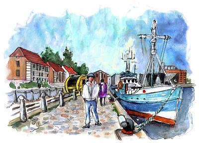 Painting - Helsingor 02 by Miki De Goodaboom