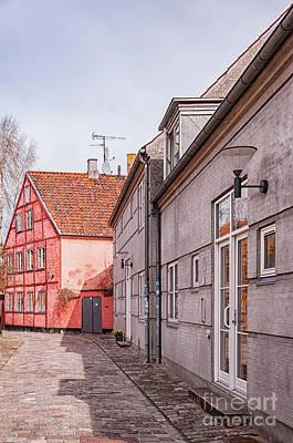 Color Block Photograph - Helsingor Little Street by Antony McAulay