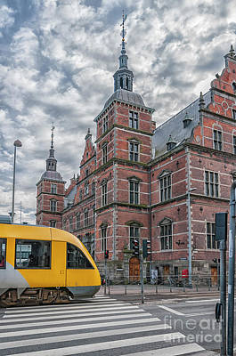 Photograph - Helsingor Train Station by Antony McAulay
