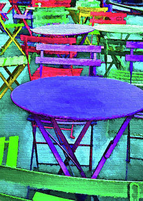 Digital Art - Helsinki Cafe by Dennis Cox Photo Explorer