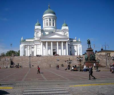 Helsinki Finland-1 Art Print