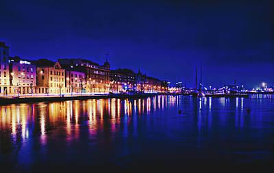 Photograph - Helsinki Harbor  by Skitterphoto