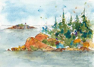 Painting - Helsinki Islands No 3 by Pat Katz