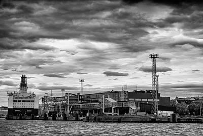 Photograph - Helsinki Port by Alexandra-Emily Kokova