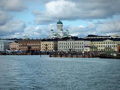 Photograph - Helsinki Skyline by Terry Fleckney