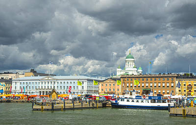 Photograph - Helsinki, South Harbor by Mick Burkey