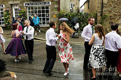 Photograph - Helston Flora Day First Dance   by Terri Waters