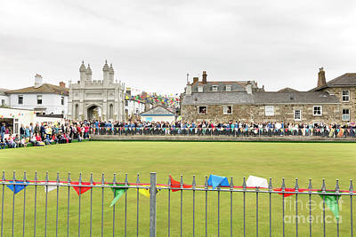 Photograph - Helston Flora Day Bowling Green by Terri Waters