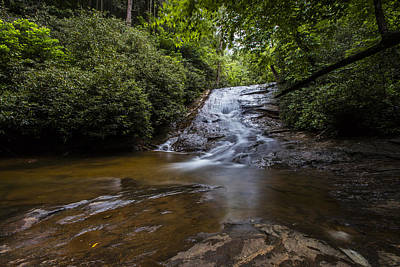 Photograph - Helton Creek Falls 2 by Sean Allen