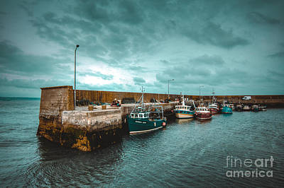 Helvick Harbour 2 Art Print