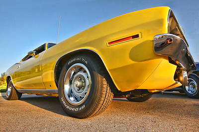 Hemi 'cuda - Ready For Take Off Art Print