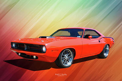 Photograph - Hemi Cuda by Keith Hawley
