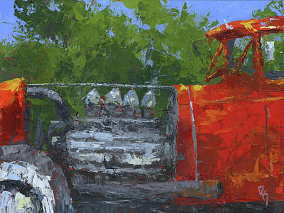 Painting - Hemi Hot Rod by David King