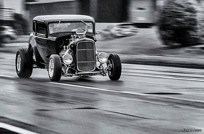Photograph - Hemi Powered 1932 Ford 5 Window Coupe by Ken Morris