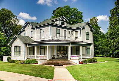 Photograph - Hemingway Ffeiffer House Piggot Arkansas by Douglas Barnett