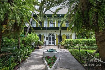 Hemingway House Wall Art - Photograph - Hemingway House Entrance, Key West by Liesl Walsh