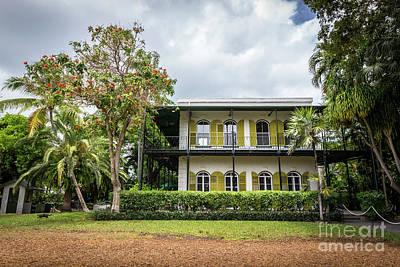 Hemingway House Wall Art - Photograph - Hemingway House, Key West, Florida by Liesl Walsh