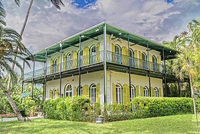 Hemingway House Wall Art - Photograph - Hemingway's Home Key West Florida by Betsy Knapp