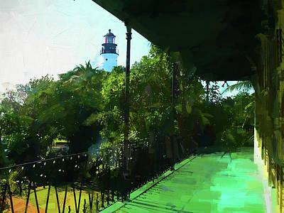 Photograph - Hemingways Lighthouse by Alice Gipson
